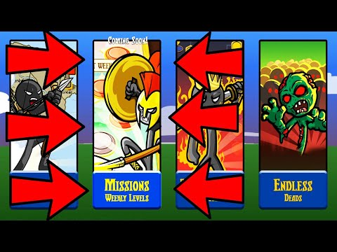 Epic All New Missions UNLOCKED BEST STRATEGY | Stick War Legacy New Chapters - New LEVELS | TRZ