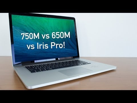 ", title : '15"" Retina MacBook Pro: GT 750M vs Iris Pro vs GT 650M Review! (2013/2014)'"