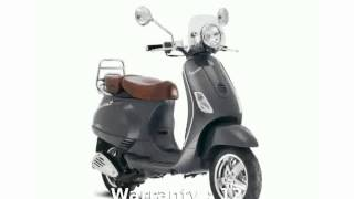 6. 2007 Vespa LXV 150 - Specification