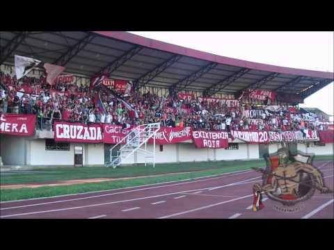 LOS DEMONIOS ROJOS en San Felipe l Yaracuyanos FC Vs CARACAS FC l TA2013 l 17-11-2013 - Los Demonios Rojos - Caracas