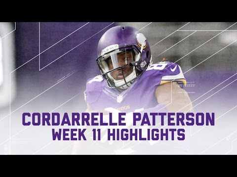 Cordarrelle Patterson's Electric Game!   Cardinals vs. Vikings   NFL Week 11 Player Highlights