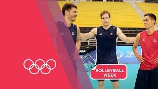 Anderson (IN) United States  city photos : Volleyball Serving Challenge with USA Men's Team