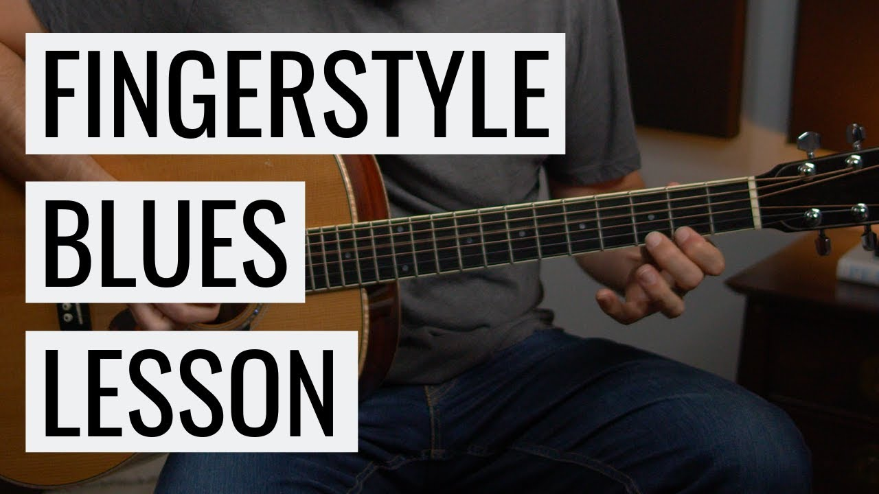 ACOUSTIC BLUES GUITAR: Learn to play this!