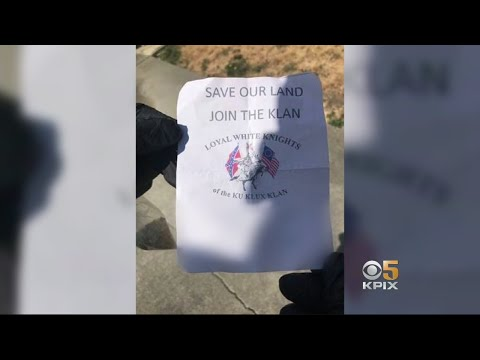 Racist Flyers Spotted In Solano County Neighborhood