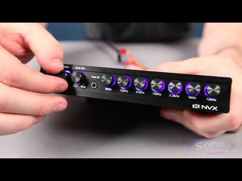 NVX XEQ7 7-Band Car Stereo Equalizer