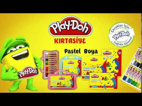 Play-Doh Kırtasiye Pastel Boya Mum Boya TV Spot Reklam