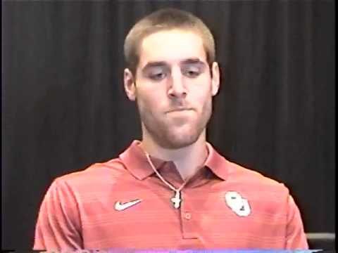 Trevor Knight Interview 8/5/2014 video.