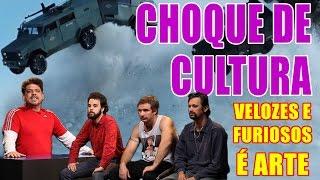 O Choque de Cultura está de volta! Neste programa de análise embasada tecnicamente impecável, o tema é Velozes e Furiosos 8, o filme mais esperado de todos os tempos desde Velozes e Furiosos 7. Em debate: icebergs, pontos na carteira e cinema brasileiro.TODA SEGUNDA 20h AQUI!FACEBOOK: http://facebook.com/tvquaseTWITTER: http://twitter.com/tv_quaseINSTAGRAM: http://instagram.com/tvquaseAPP IPHONE IOS: https://itunes.apple.com/br/app/id1017700516APP ANDROID: https://play.google.com/store/apps/details?id=com.tvquase