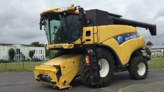 Mähdrescher New Holland CR9060, 2010, 1272 mh, 870 th, SW 7 63m VarifeedHD, 286kw, Germany