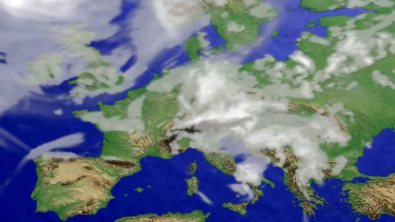 Cloud forecast Europe 2016-07-23