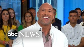 Video Dwayne 'The Rock' Johnson's mom shares his embarrassing nickname MP3, 3GP, MP4, WEBM, AVI, FLV November 2018