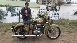 6. Autotracker - Royal Enfield Classic 500 Desert Storm - Indian Spec - Walkaround