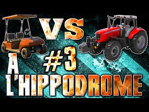 GTA V ONLINE | Caddies de golf Vs Tracteurs #3