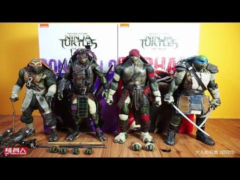 threezero 忍者龜:變種世代 多納太羅(Donatello)及拉斐爾(Raphael) 開箱