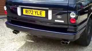 Range Rover P38 With Powerful UK L322 Rear Conversion
