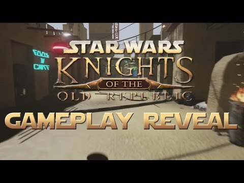 Star Wars KOTOR avec l'Unreal Engine 4