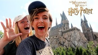 Hogwarts & Hogsmeade Vlog at the Wizarding World of Harry Potter with Tessa Netting