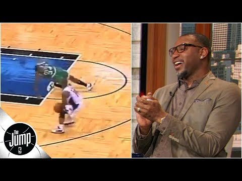 Tracy McGrady convinces producers to show video of Paul Pierce getting ankles broken | The Jump