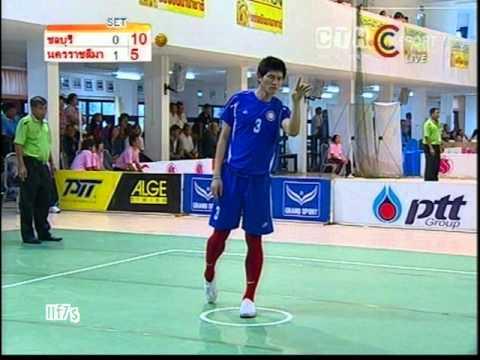 Sepak Takraw Chonburi VS Nakhon Ratchasima Team ค