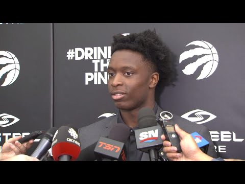Video: Anunoby: I can make DeRozan better
