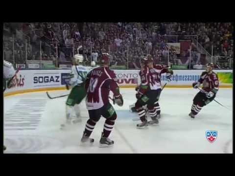 Лучшие голы регулярного сезона 2013-14  КХЛ / KHL Top 10 Goals of 2013-14 season (видео)