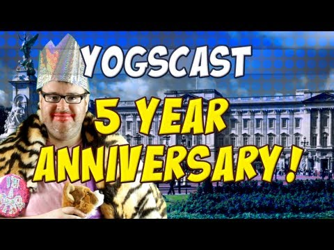 Simon - Worst party ever. Thanks for the awesome five years, you guys are the best! ♥ T-shirts and jumpers: http://yogscast.spreadshirt.co.uk/ ♥ Subscribe: http://ww...