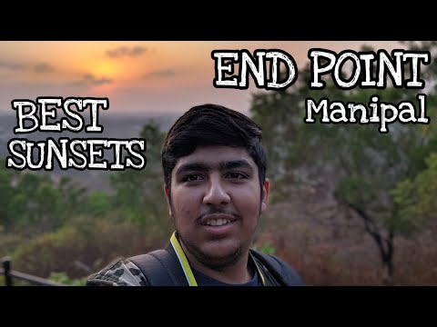 [Hindi] End Point Manipal | Full Tour | Scenic View | Sunsets | Beautiful Park | Manipal University