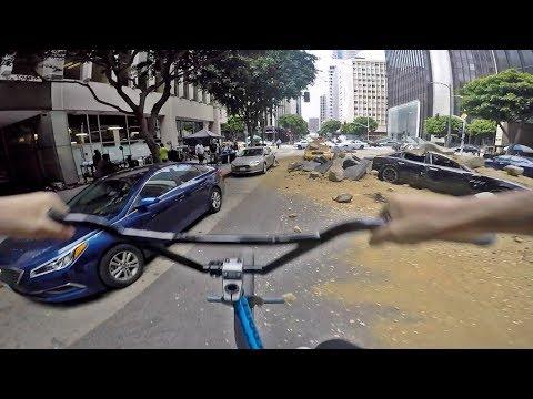 GoPro BMX Bike Riding in LA 2 (видео)