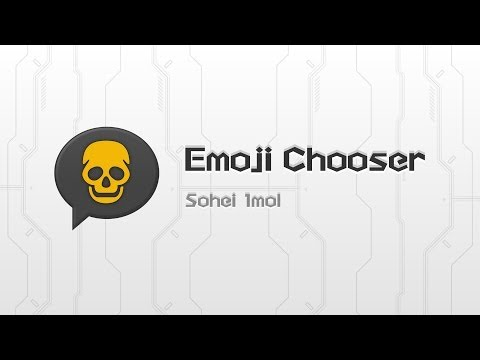 Video of Emoji Chooser(EmoticonInput)