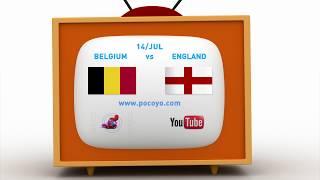 Pocoyo português Brasil - 2018 Pocoyo Football Championship: Belgium vs England