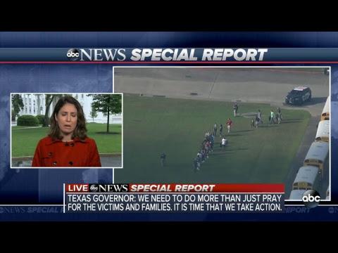 Gov. Abbott, Sen. Cruz hold news conference on Texas high school shooting | ABC News