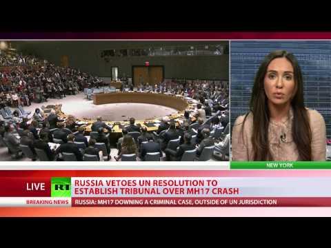 Rusija stavila veto na rezoluciju o uspostavljanju suda za obaranje MH 17