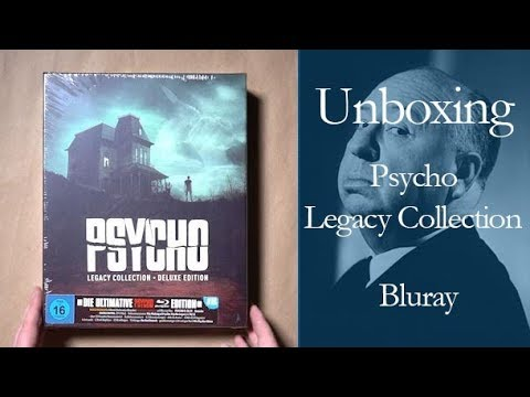 Psycho Legacy Collection - Deluxe Edition - Bluray | Unboxing