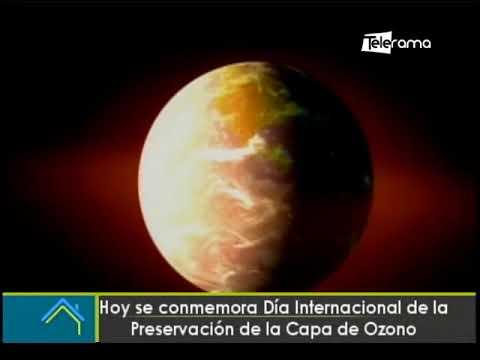 Hoy se conmemora día internacional de la Preservación de la Capa de Ozono
