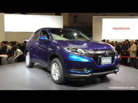 คลิปเปิดตัว HONDA VEZEL 2014 C-Crossover รุ่นใหม่จากฮอนด้าในงาน Tokyo Motor Show
