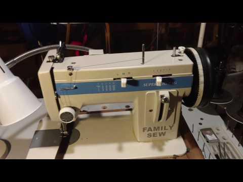 rex walking foot sewing machine