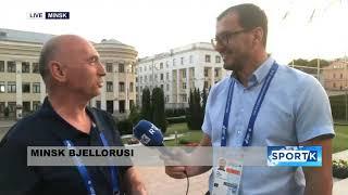 Intervistë me Besim Hasani - Minsk Bjellorusi 24.06.2019