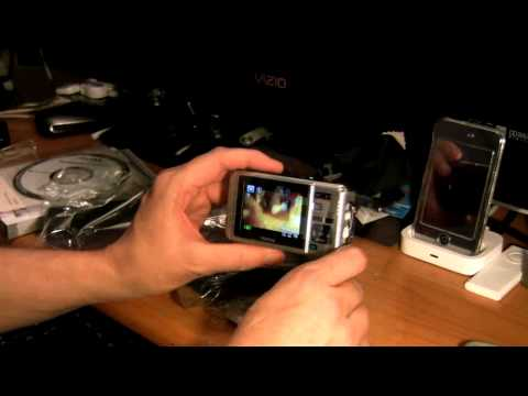 Pentax Optio W80 (waterproof) Unboxing and Review