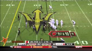Melvin Gordon vs Arizona St (2013)