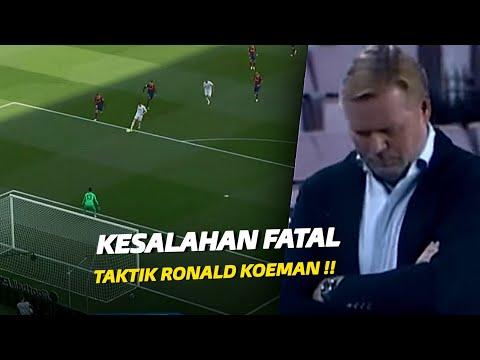 """Pemain Bertahan Kalah Lari"" Inilah Kesalahan Fatal Ronald Koeman yang Dimanfaatkan Zidane"