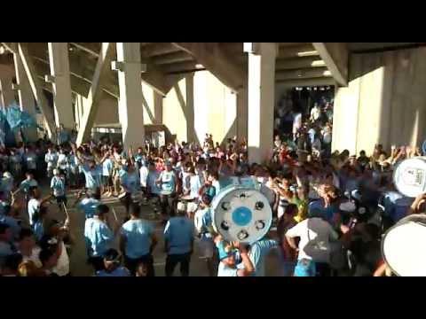 Hinchada De Belgrano vs Estudiantes 2012 Parte 1/2 - Los Piratas Celestes de Alberdi - Belgrano - Argentina - América del Sur