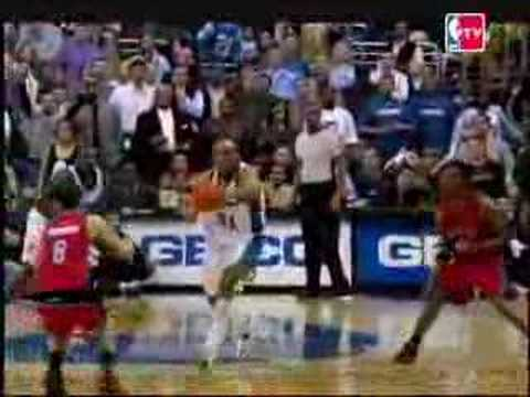 Morris Peterson's game tying buzzer shot vs. Wizards