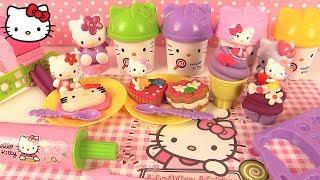 Video Pâte à Modeler Hello Kitty Gâteaux Glace Cupcake Maxi Coffret Gourmand ハローキティ MP3, 3GP, MP4, WEBM, AVI, FLV Juli 2017