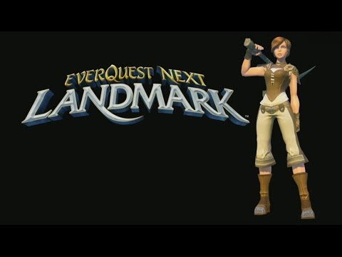 EverQuest Next Landmark – Getting Started Guide (Gameplay / Tutorial)