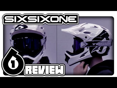 SIXSIXONE Helm Comp + TWO-X Race Brille Review [German] [HD]