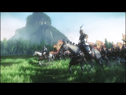 TOTAL WAR THREE KINGDOMS l MA CHAO VS ZHANG FEI Epic Cinematic l Extreme graphics