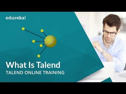 What is Talend | Talend Tutorial for Beginners | Talend Online Training | Edureka