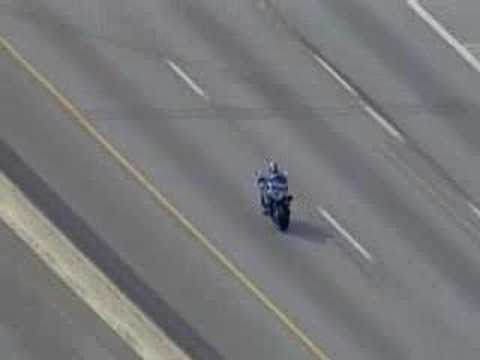 RAW FOOTAGE -Dallas Motorcycle Chase 2006