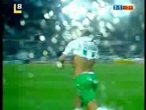 Primer gol de Óscar Serrano Racing