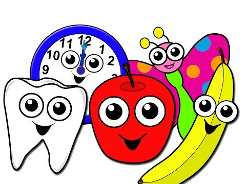 kindergarten - This 35 Minute Collection of Pre-Kindergarten Song Videos Teach Key Lessons like Brushing Your Teeth, Fruits + Vegetables, Emotions, The Weather, Family, Tel...